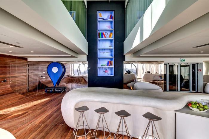 Офис Google в Тель-Авив